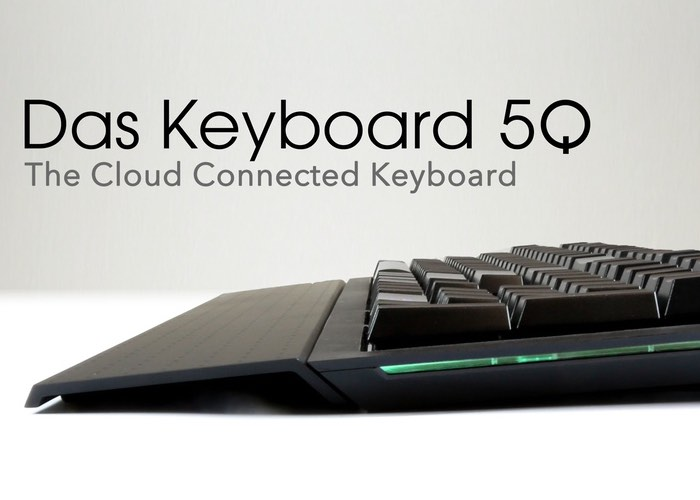 Das Keyboard 5Q Cloud Connected Keyboard